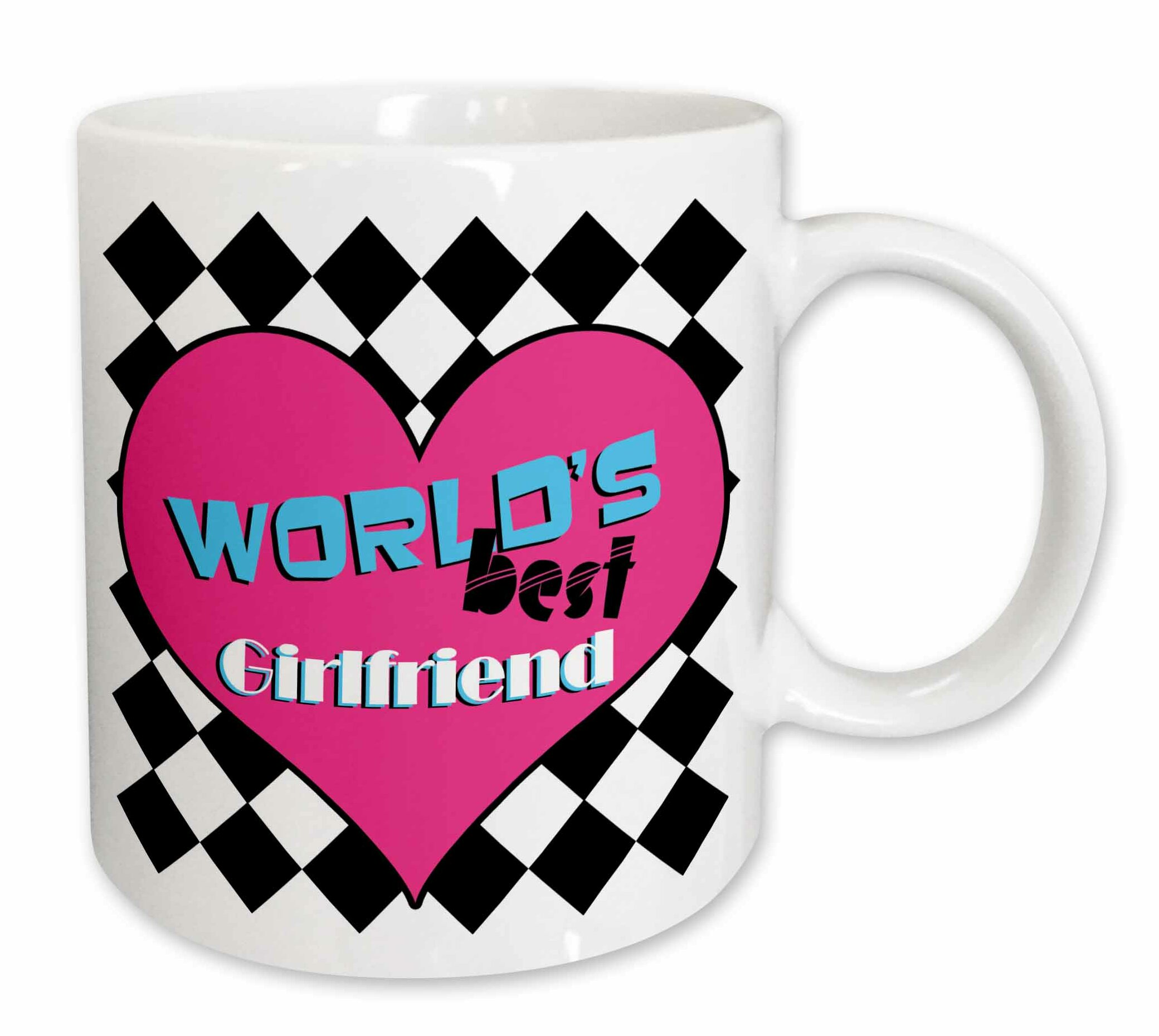 East Urban Home Worlds Best Girlfriend Coffee Mug Wayfair