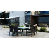 Glendale 9 Piece Dining Set with Sunbrella Cushion