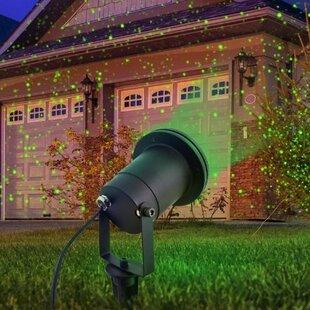 Outdoor laser lights wayfair indoor and outdoor garden laser light with remote control aloadofball Gallery