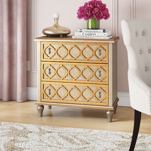 Chantel 3 Drawer Accent chest By Willa Arlo Interiors