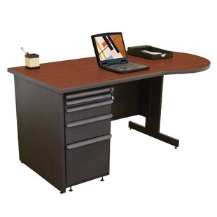 Zapf Peninsula Reversible U-Shape Executive Desk by Marvel Office Furniture Discount
