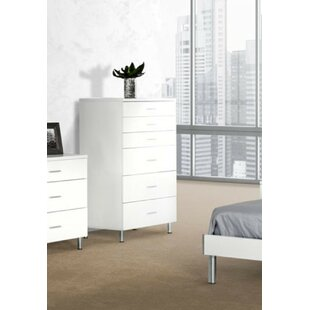 Wade Logan Elettra 6 Drawer Chest