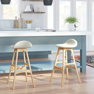 Eldred Swivel Bar Stool Mercury Row