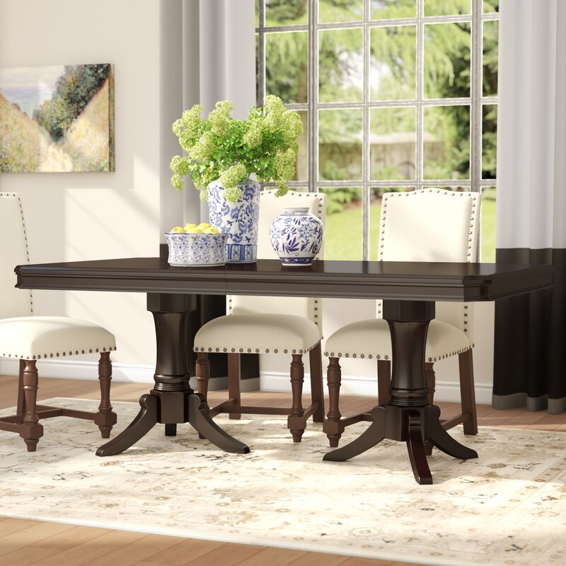 Delightful Rheems Extendable Dining Table