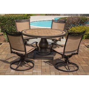 Bucher 5 Piece Dining Set