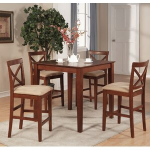 Great Divide 5 Piece Counter Height Pub Table Set