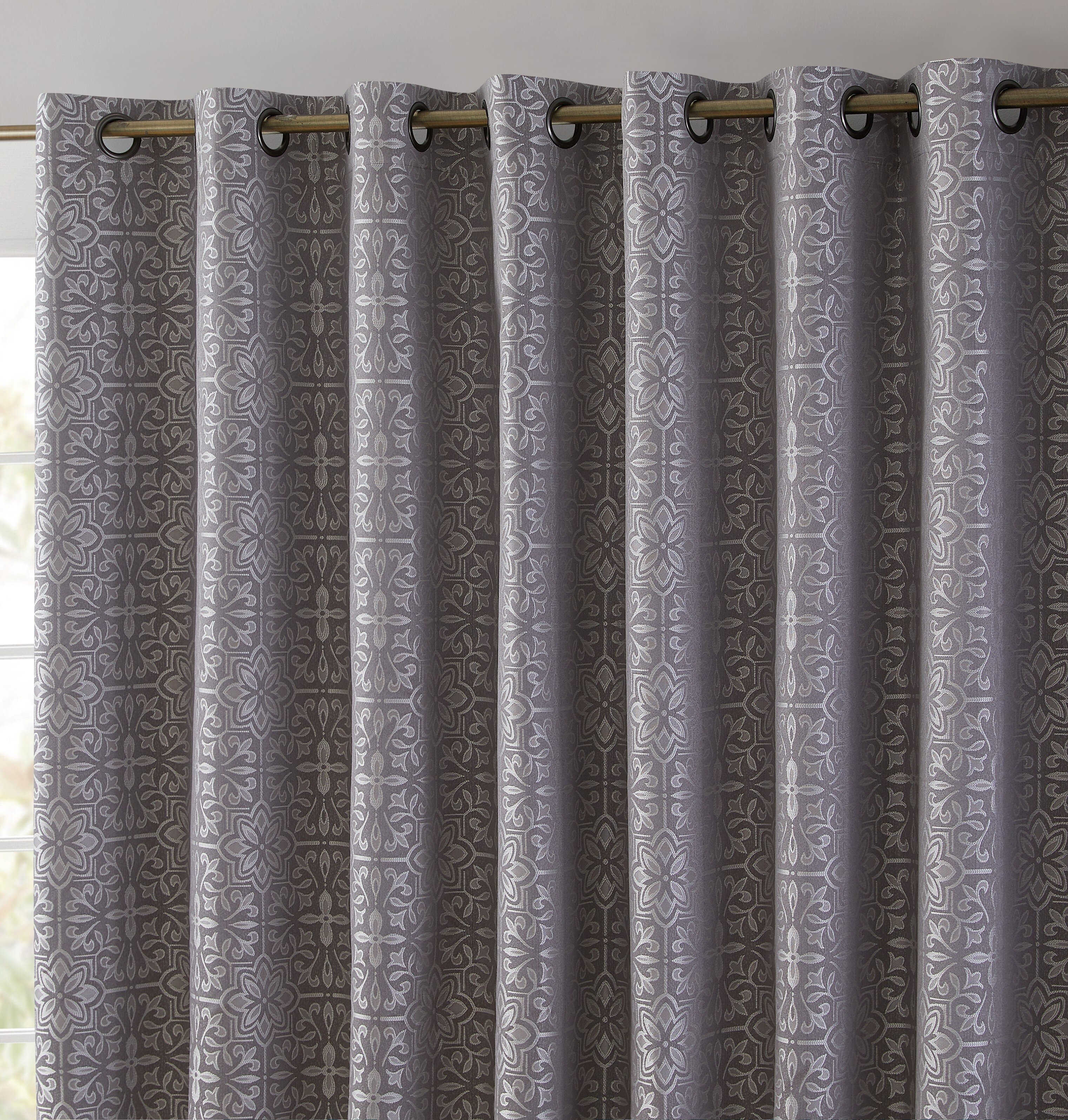Abstract Grommet Curtains Drapes You Ll Love In 2021 Wayfair