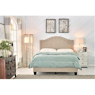 Lightner Upholstered Panel Bed by House of Hampton Modern