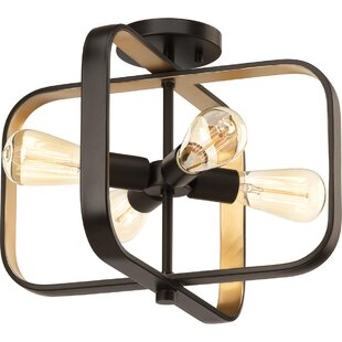 Geer 4-Light Semi Flush Mo..