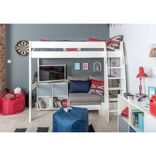 Compare Price Kool European Single (90 X 200cm) High Sleeper Bed