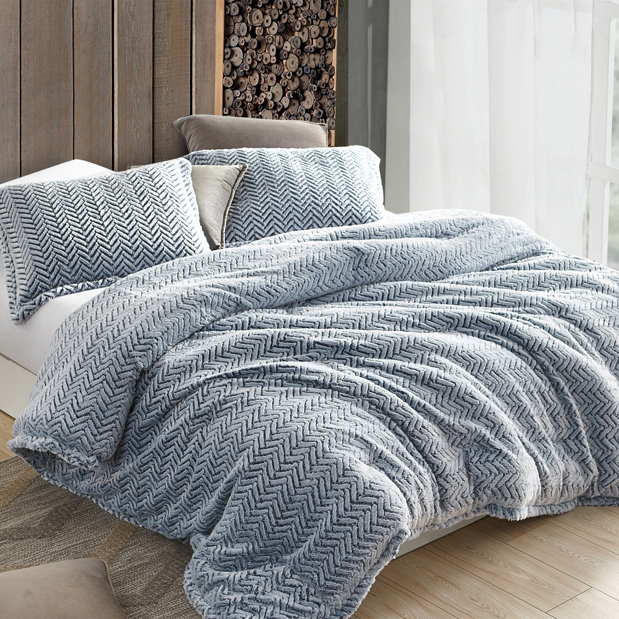 Everly Quinn Cyril Cozy Peaks Coma Inducer Comforter Set Reviews Wayfair
