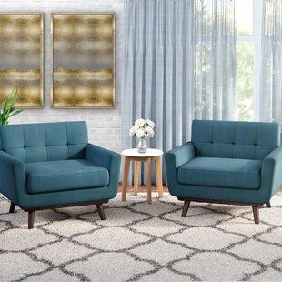 Price Check Saginaw Armchair (Set of 2) ByCorrigan Studio
