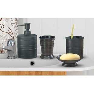 Cerda 4 Piece Bathroom Accessory Set By 17 Stories