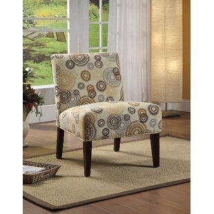Ebern Designs Rushford Fabric Slipper Chair
