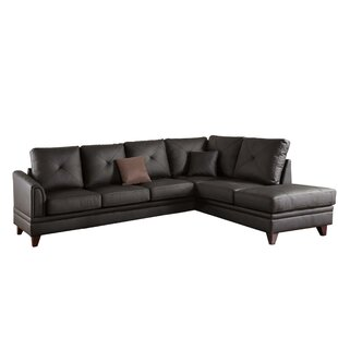 Pensford Leather Sectional