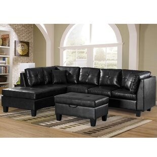 Red Barrel Studio Gaston Sectional with Ottoman