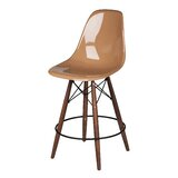 Balam Mid Century 26 Bar Stool by Brayden Studio®