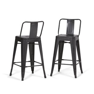 Sturges 24 Bar Stool (Set of 2) Williston Forge