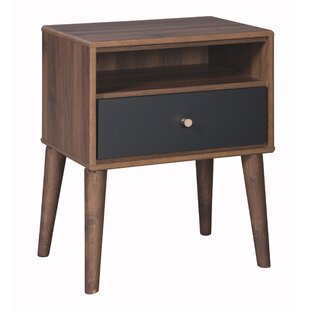 Find the perfect Lyndhurst 1 Drawer Nightstand by Gracie Oaks