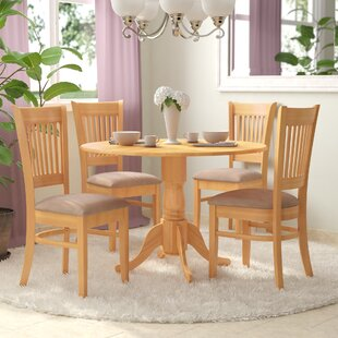 Charlton Home Gloucester 5 Piece Bistro Set