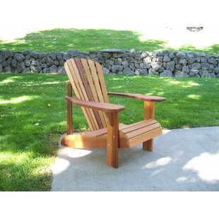 T&L Solid Wood Adirondack Chair