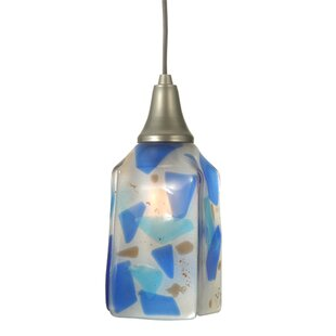 Metro Fusion Ciel Cadente Draped 1-Light Square/Rectangle Pendant by Meyda Tiffany