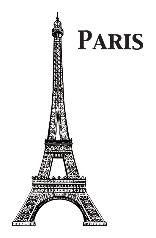 Eiffel Tower Wall Decor wallpops! home decor line eiffel tower wall decal & reviews | wayfair