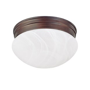 Lynnville 2-Light Flush Mount by Winston Porter
