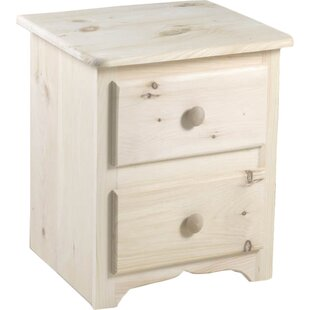 Top Landry 2 Drawer Nightstand by Chelsea Home Furniture