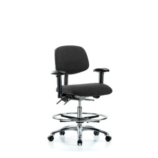 Molly Ergonomic Drafting Chair by Symple Stuff