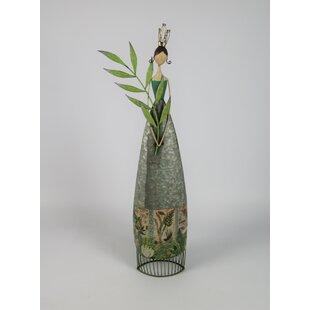 Meriwether Garden Fairy Green Branch Metal Image