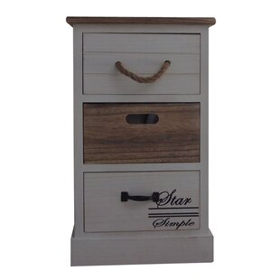 3 Drawer Nightstand by The Urban Port