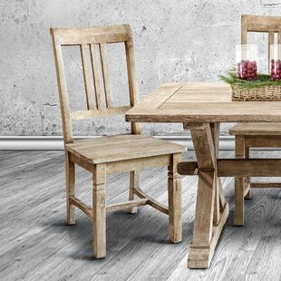 Rhyne Solid Wood Dining Chair (Set of 2)