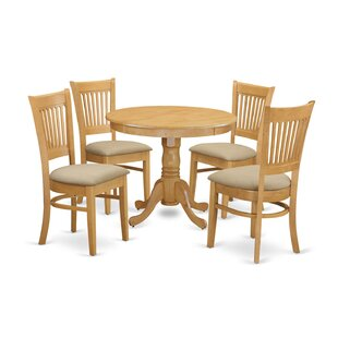 5 Piece Dining Set by Wooden Importers Today Sale Only