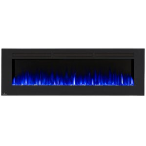 Allure Wall Mount Electric Fireplace by Napo..