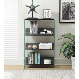Wrought Studio Bolander 4 Tier Standard Bookcase