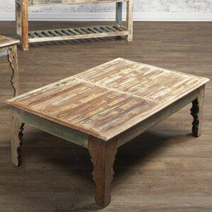 bohemian rectangle coffee tables you'll love | wayfair