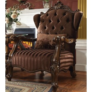 Astoria Grand Jazmin Wingback Chair