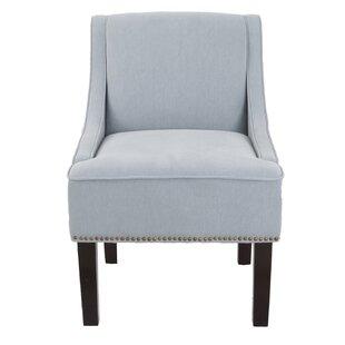 Meurer Fabric Slipper Chair by Charlton Home