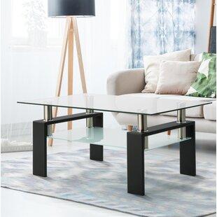 Damiesha Coffee Table with Storage