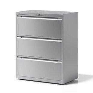 Essentials 3 Drawer Filing Cabinet By Bisley