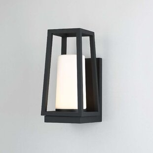 Wilmoth 1 Light LED Outdoor Sconce by Breakwater Bay
