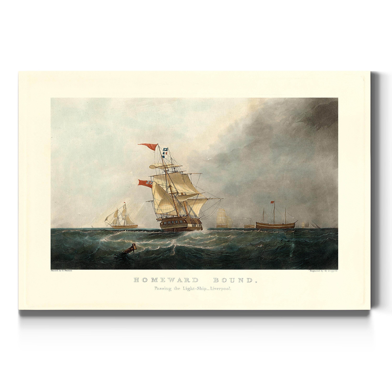 Breakwater Bay Homeward Bound Wrapped Canvas Print Wayfair