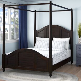 Harrison Canopy Bed by Beachcrest Home