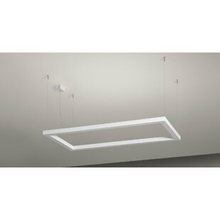 Lightecture by Axo Light Framework P 2-Light Geometric Chandelier