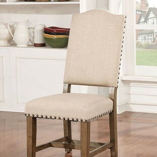 Katarina Upholstered Dining Chair (Set of 2) One Allium Way