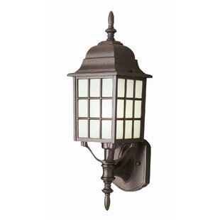 Find the perfect Woodard 1-Light Outdoor Sconce By Loon Peak