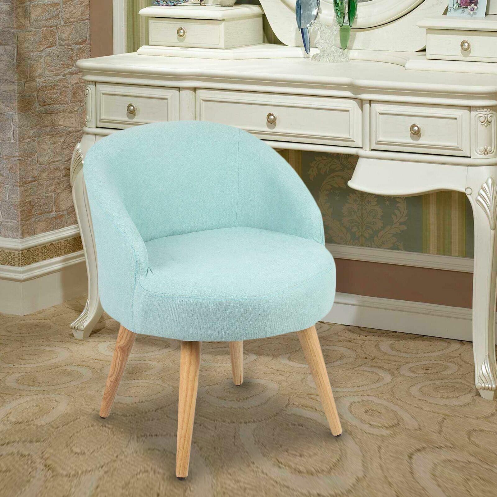 Wrought Studio Berrand Solid Wood Vanity Stool Reviews Wayfair