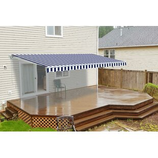 ALEKO 13 ft. W x 10 ft. D Retractable Patio Awning