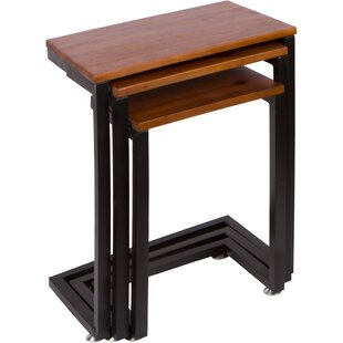 3 Piece Nesting Tables by Trademark Innovations